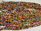 40 Strands 15 Assorted Color Spacer Glass Beads Wholesale Bulk Lot NMP 60