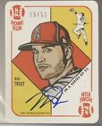 Mike Trout Signs Exclusive Autograph Deal with Topps 15