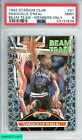 1992 STADIUM CLUB SHAQUILLE O NEAL #21 BEAM TEAM MEMBERS ONLY ROOKIE RC PSA 9