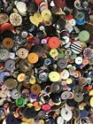 Buttons 5000 Vintage Assorted Sizes And Colors Bulk Lot 12 Lot Sewing Crafts