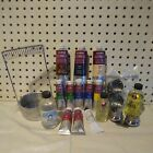 10 Lukas Oil Color Paints Linseed Oil Brush Washer Palate Cups