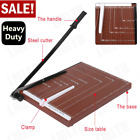 Paper Trimmer A4 Paper Cutter Guillotine with Heavy Duty Gridded Base Cut 12 St