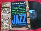 Donald Byrd AT THE HALF NOTE CAFE Vol 1 70s BLUE NOTE on black blue label VG++
