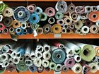 Clearance Job lot Assorted Plain Printed Jersey Gingham Crepe 1 Meter Swatch