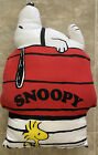 Vintage Snoopy Woodstock Pillow dog house Peanuts
