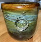 Early Rare Mdina Glass Small Bell Vase C1970