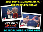 Muhammad Ali Boxing Cards and Autographed Memorabilia Guide 17
