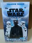 2021 Topps Star Wars Battle Plans HOBBY Box FACTORY SEALED 2 HITS 1 AUTO