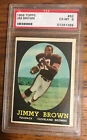 1958 Topps #62 Jim Jimmy Brown Rookie RC PSA 6 EX-MT - Going Up