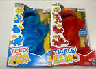 Sesame Street Friends Lot 2 Tickle Me Elmo Cookie Monster Feed Me See Pic