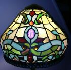 Dale Tiffany Signed Stained Glass Jeweled Lamp Shade 10