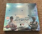 2021 Topps Bowman Sterling Baseball HOBBY BOX Factory Sealed 5 Autos
