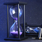 30 60 Minutes Wooden Home Room Table Hourglass Sand Timer Clock Decorations Tool