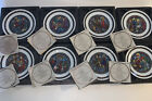 Christmas Nativity Plates Noel Vitrail by Andre Restieau 1975 1982 Complete Set