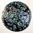 Unusual PHOENIX STUDIOS Paperweight with Surface Beads