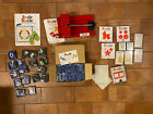 Sizzix Red Die Cutter Press Machine Lot With Alphabet Numbers Symbols  Shapes