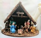 Vintage NATIVITY SET Creche Complete Made in Italy Good Condition