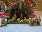 Vintage Nativity Creche Made in Italy
