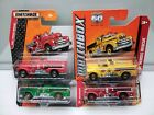 Matchbox Superfast MB843 Seagrave Fire Truck Variations Model Cars x4