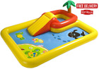 Inflatable Ocean Childrens Play Center Outdoor Backyard Kiddie Pool and Game Se