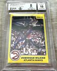 Dominique Wilkins signed 1983-84 Star All-Rookies RC graded BGS 8 10 BAS slabbed