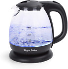 Small Glass Kettle Electric Compact Mini Sized Electric Hot Water Kettle for Te