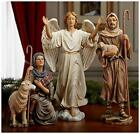 Nativity Shepherds and Angel for Three Kings Giftsch Christmas Nativity 10 in
