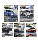 2021 HOT WHEELS Fast And Furious FAST SUPERSTARS M CASE Set Of 5 Cars New