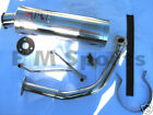 Chinese Gy6 Moped Bike P  P Performance Steel Exhaust 100cc 125cc 150cc