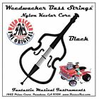 UPRIGHT BASS ROCKABILLY WEEDWACKER NYLON STRINGS BLACK!