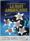 DAY FOR NIGHT 1973 47x63 French film poster Truffaut