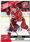2010-11 Donruss # 3 Jeff Skinner Rated Rookie AUTO RC