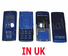 Samsung J600 SGH J600 Genuine Fascia Housing Back Battery Cover Keypad Blue UK