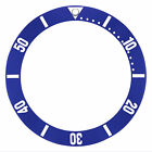 BEZEL INSERT FOR LADY OMEGA SEAMASTER AUTOMATIC WATCH BLUE SILVER