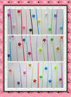 origami lucky star folding straw 90pc120pc70pc transparent straws glow in dark