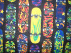 SKATEBOARD SKATE HARDCORE FLEECE FABRIC OOP