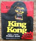 Topps Rare King Kong 1976 Dino De Laurentus unopened seal Bubble Gum Pack