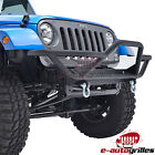 Rock Crawler Front Bumper / Guard JEEP WRANGLER Unlimited JK 4DR/JK 2DR TEXT BLK