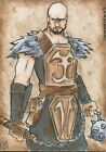 Red Sonja AUTOGRAPH SKETCH CARD David Gridley Breygent 2011
