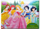 Set of 6 - Disney Princess Collection Jigsaw Puzzles Childrens Gift 40 Piece New