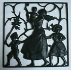 GERMAN ART DECO LAUCHHAMMER CAST IRON WALL PANEL HEINRICH MOSHAGE 1930s BUDERUS