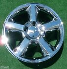 NEW Chevy Chevrolet Avalanche Tahoe Suburban CHROME OEM Spec 20 inch WHEEL 5518