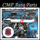 RED 1989 1994 GEO TRACKER 16 16L 4CYL BASE LSi AIR INTAKE KIT INDUCTION SYSTEM