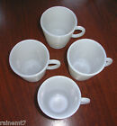 Milk Glass Child Size C Handle Mug Set ~ Excellent ~ Fast Shipping!