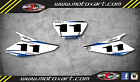 Custom Number plates for YAMAHA DT 125 RE X / stickers / decals / graphics