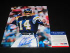 Dan Fouts Cards, Rookie Card and Autographed Memorabilia Guide 27
