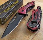 TAC-FORCE Speedster Assisted Opening High Carbon PINK CAMO Bottle Opener Knife!!