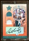 DAN MARINO 2001 LEAF R&S AUTO PANTS JERSEY SP SUPER RARE FIND DRESS FOR SUCCESS