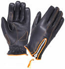 WOMEN'S LINED FULL FINGER ULTRA MOTORCYCLE RIDING GLOVES QUALITY NAKED LEATHER
