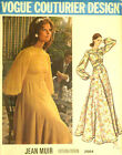 VINTAGE 1970s JEAN MUIR VOGUE DRESS PATTERN 2664 SIZE 8 COMPLETE UNCUT